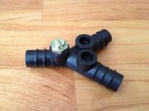 Dual low pressure manual valve